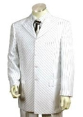 3 Buttons Suit White