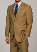 SKU#DA1113 Men's Camel 2-button Suit $149