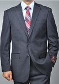 Charcoal Grey 2-button Suit