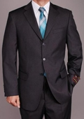 Charcoal Grey 3-button Suit