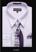 Classic Dress Shirt Lilac