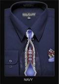 Classic Dress Shirt Navy