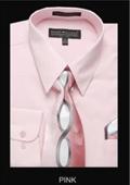 Classic Dress Shirt Pink
