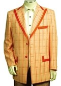 Exclusive Orange Pinstripe Fashion