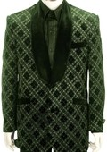 SKU#TS8162 Mens Exclusive Stunning Zoot Suit Olive $175
