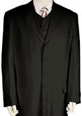 Fashionable Zoot Suit Black