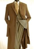 Mens full length coat