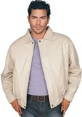 Leather Jacket Bone $159