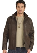 Leather Jacket Brown $159