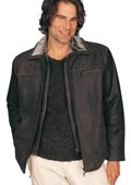 Leather Jacket Dark Brown
