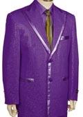 Long Zoot Suit Purple
