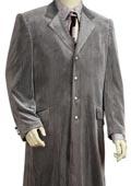 Long Zoot Suit Silver