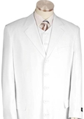 Long Zoot Suit White