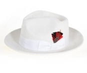 Off White Fedora Hat
