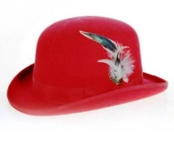 Red Derby ~ Bowler