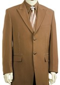 Stylish Zoot Suit Chestnut