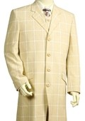 Stylish Zoot Suit Cream