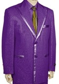 Stylish Zoot Suit Purple