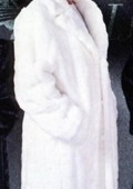 Mens White Trench Coat