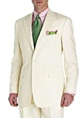SKU# MA2 mixing dressy with casual quality Two Button Super fine all saison/tendency summer suit $295