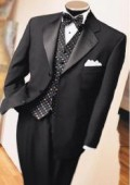 SKU# HK-71 premeier quality italian fabric Tuxedo Super 150's Wool Jacket + Pants $169