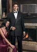 VALENTI~$1800 premeier quality italian fabric Design one button Double Breasted shawl collar tuxedo by Leonardo Valenti $375
