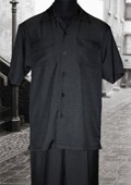 Black 2 Pc Shirt