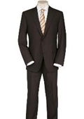 SKU#SP9 Solid Brown Quality Suit Separates, Total Comfort Any Size Jacket&Any Size Pants $239