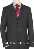 Solid Charcoal Gray Quality Suit Separates Total Comfort Any Size Jacket&Any Size Pants $239