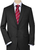Solid Charcoal Gray Quality Suit Separates, Total Comfort Any Size Jacket&Any Size Pants $189