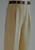 SKU#MF3876 Tan Wide Leg Dress Pants $59
