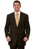 Mens Classic Suits Black