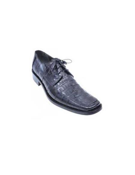 Black Genuine All-Over Crocodile ~ World Best Alligator ~ Gator Skin Shoes