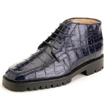 MensUSA.com Navy Genuine Crocodile(Exchange only policy) at Sears.com