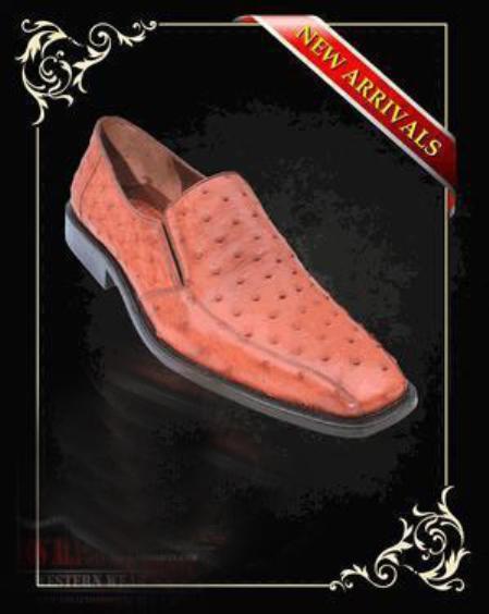 Quill Copper~Rust~Cognac Loafer Dress