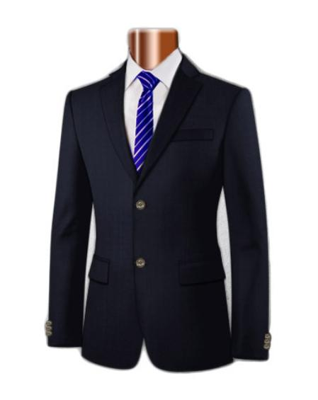 SKU#KA1198 Men's 100% Super Wool Blazer