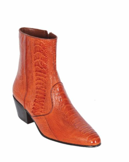SKU#KA1201 Leg European Style Dress Boot Copper~Rust~Cognac $317