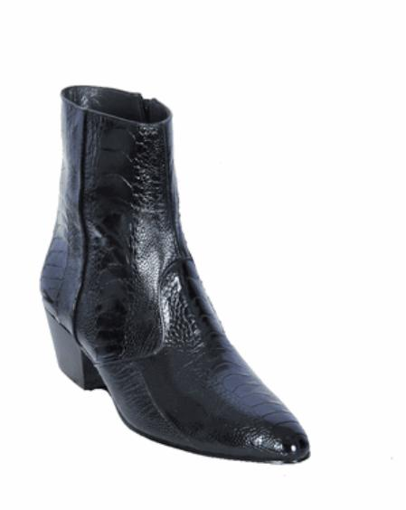 SKU#KA1202 Los Altos Leg European Style Dress Black Boot