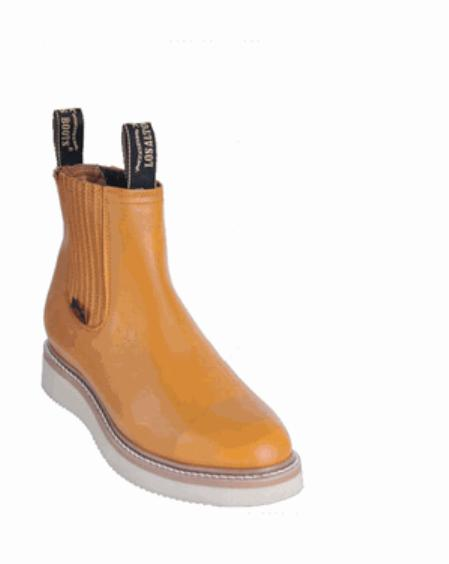 SKU#KA1116 Mens Los Altos Short Work Boot Buttercup $107