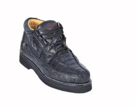 SKU#KA1277 Ostrich & caiman ~ alligator Shoes
