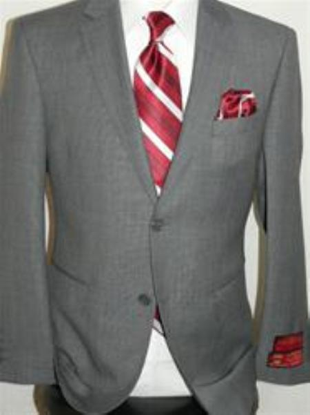 SKU#KA12403 Authentic Mantoni Brand Nailhead Suit By Mantoni $175