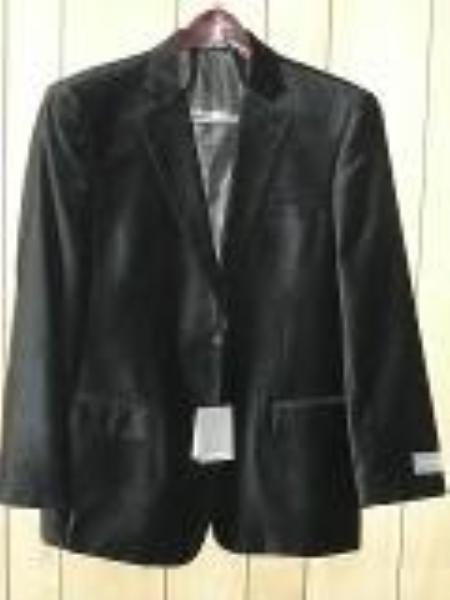 SKU#KA1284 Black Luxurious, soft velvet Coat $139
