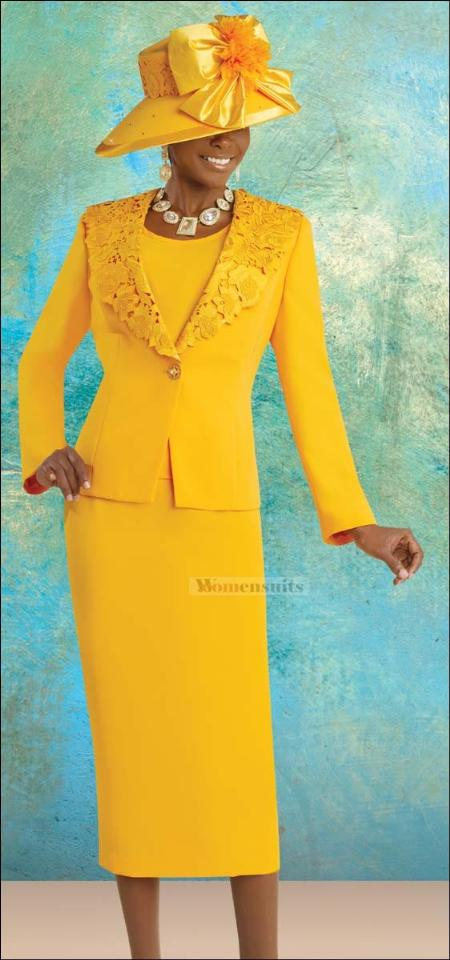 SKU#KA1334 Unique Fashion Sunday Church Suit $149