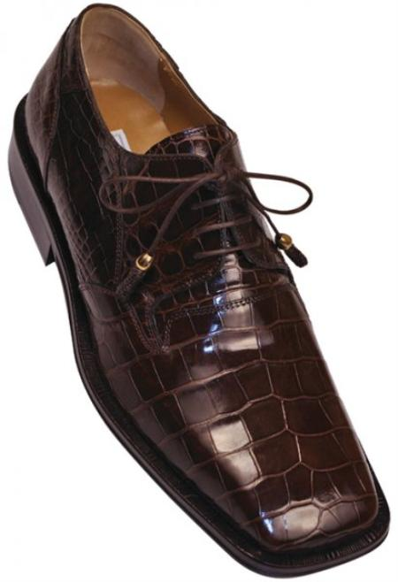 SKU#KA1384 Ferrini Genuine Alligator Shoes $569