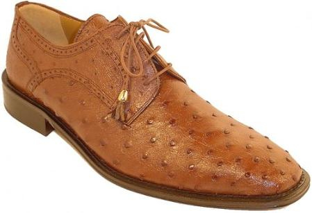 SKU#KA1385 Ferrini 214/M Genuine Ostrich Shoes $319