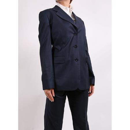 SKU#KA1470  Womens Navy Two-piece Suit $99