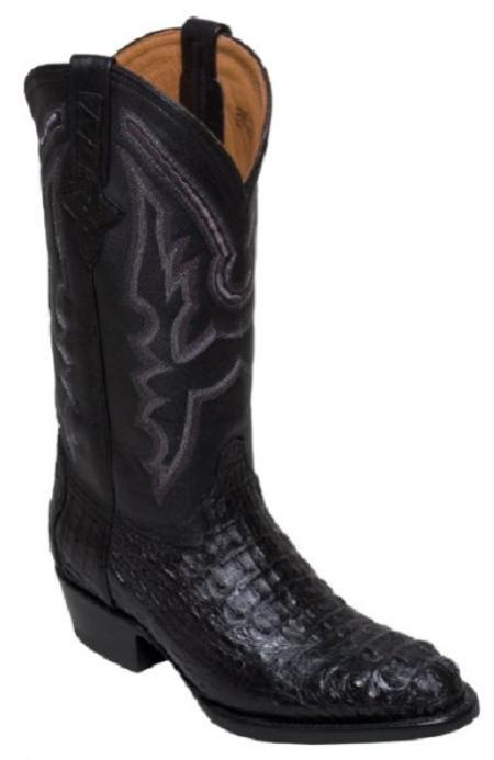 SKU#KA1395 Ferrini Genuine caiman ~ alligator Body Crocodile ~ Alligator Boots $399