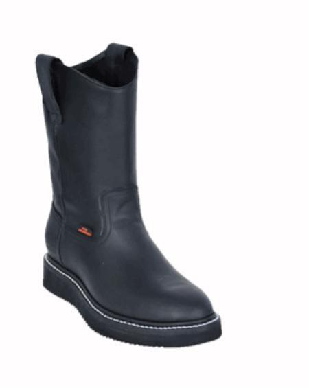 SKU#KA1111 Mens Los Altos Grasso Nappa Work Boot $107