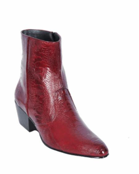 SKU#KA1203 Leg European Style Dress Burgundy Boot $317
