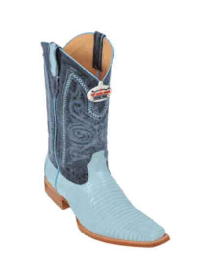 MensUSA Baby Blue Teju Cowboy Boots at Sears.com